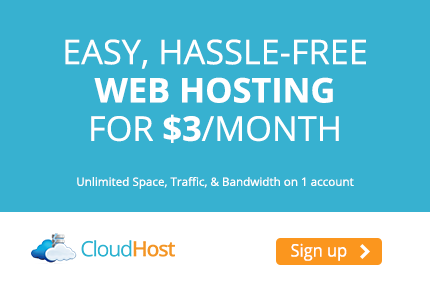 Unlimited Hosting @ CloudHost Reliable Web Hosting Provider